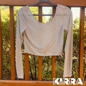 KIRRA for PACSUN Cropped Long Sleeve T-Shirt